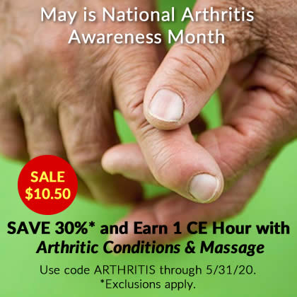 Save 30% on Arthritic Conditions & Massage