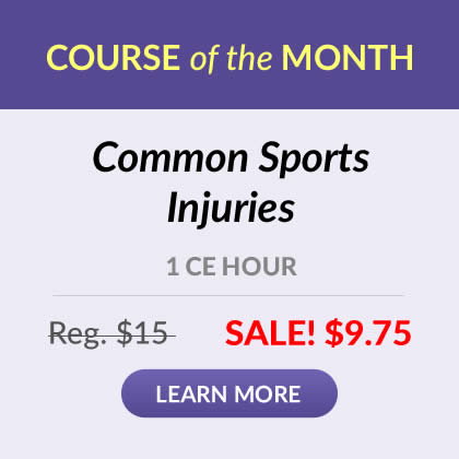 Save 35% on Common Sports Injuries