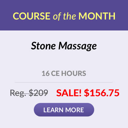 Course of the Month - Stone Massage