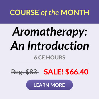 Course of the Month - Aromatherapy: An Introduction