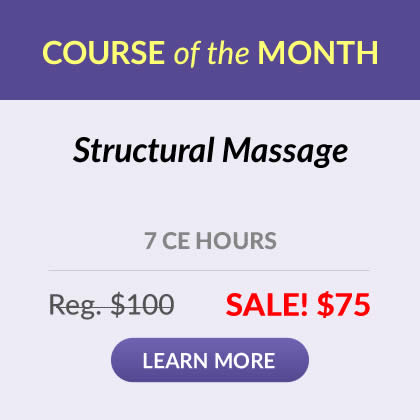 Course of the Month - Structural Massage