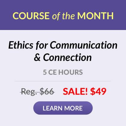 Course of the Month - Ethics for Communication & Connection