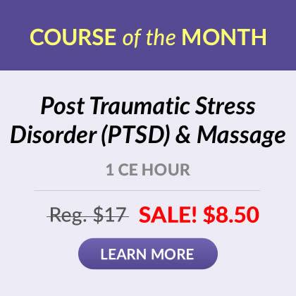 Course of the Month - PTSD & Massage