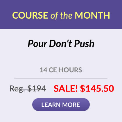 Course of the Month - Pour Don't Push
