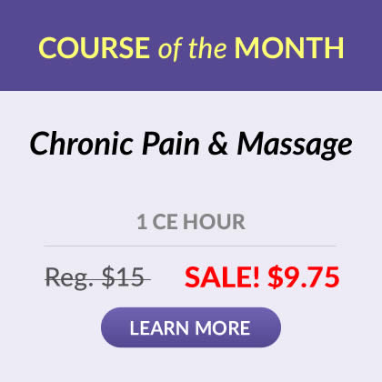 Course of the Month - Chronic Pain & Massage