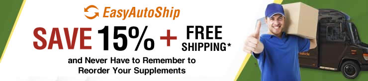 EasyAutoShip - Save 15% + Free Shipping