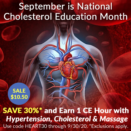 Save 30% on Hypertension, Cholesterol & Massage