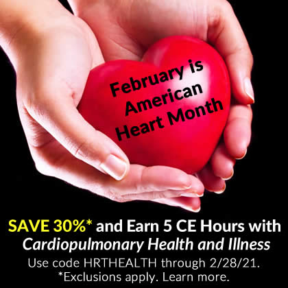 Save 30% on Cardiopulmonary Health & Illness