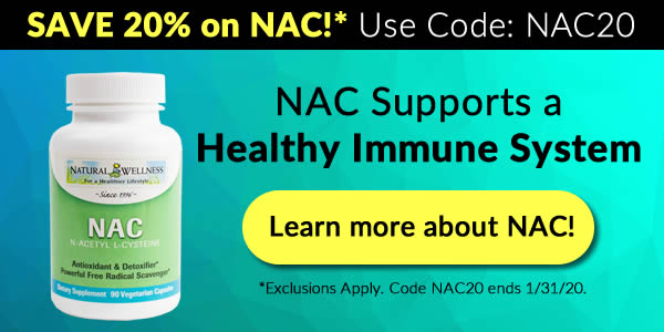 Save 20% on NAC