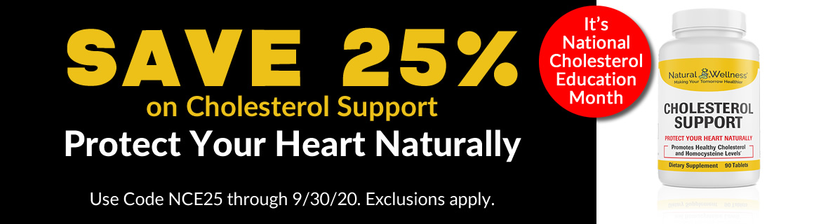 Save 25% on Cholesterol Support