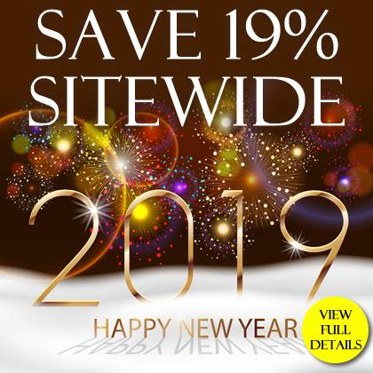 Save 19% Sitewide