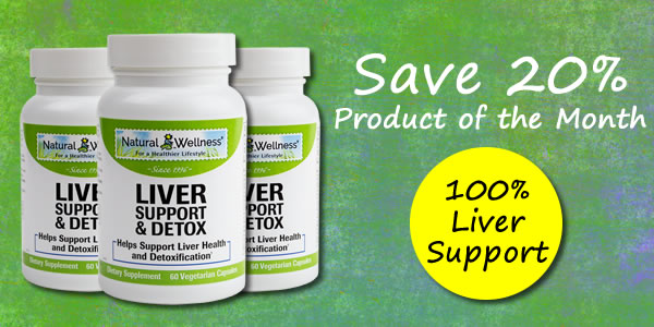 Product of the Month - Liver Support & Detox