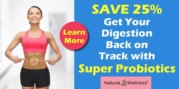 Save 25% on Super Probiotics