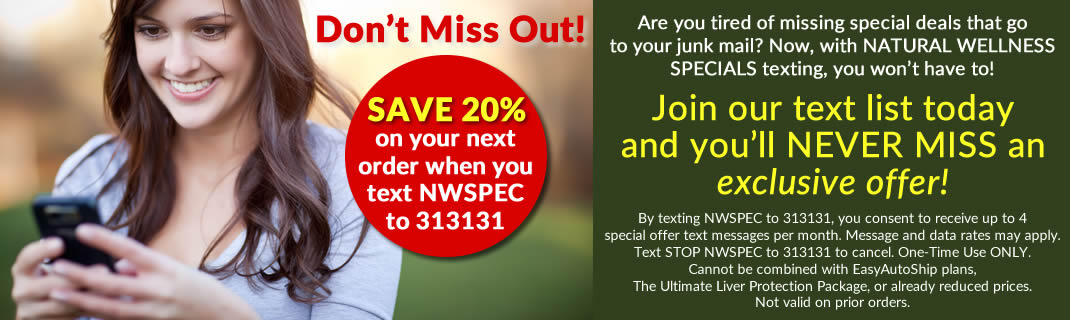 Save 20% on your next order