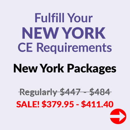 New York CE Packages