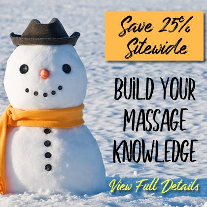 Save 25% Sitewide on Massage CE