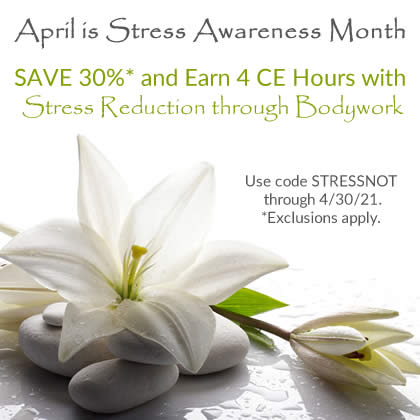 Save 30% on Stress Reduction through Bodywork