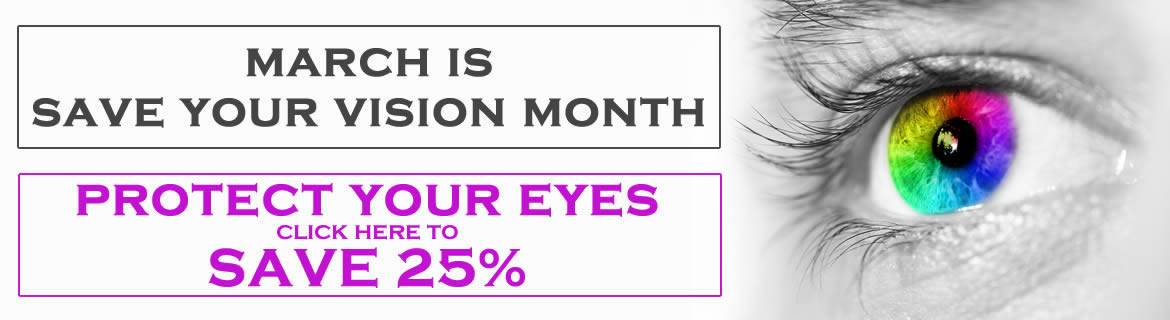 Save 25% on Eye Health