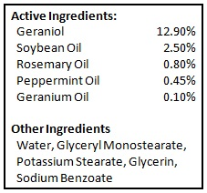 BioShield - Ingredients Large