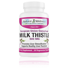 Milk Thistle 500 MG - Bottle