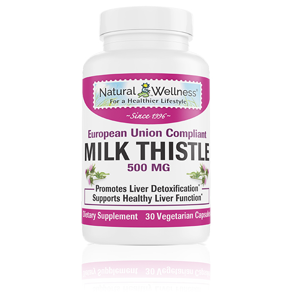 Milk Thistle 500 MG - Bottle Large
