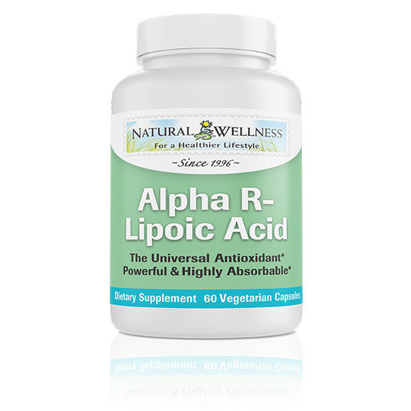Alpha R-Lipoic Acid - Bottle Large
