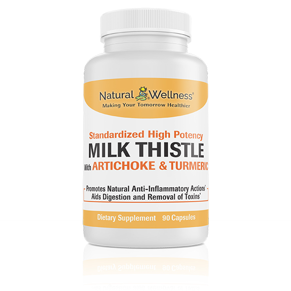 Milk Thistle with Artichoke & Turmeric - Bottle Large