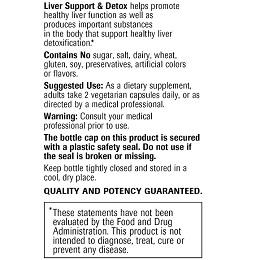 Liver Support & Detox