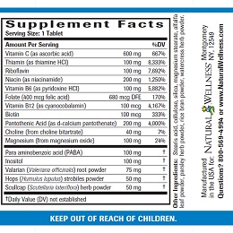 Stress Relief - Supplement Facts