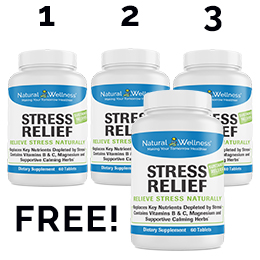 Stress Relief Buy 3 Get 1 Free