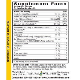 Cholesterol Support - Supplement Facts