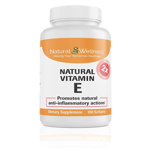 Natural Vitamin E - Bottle Large