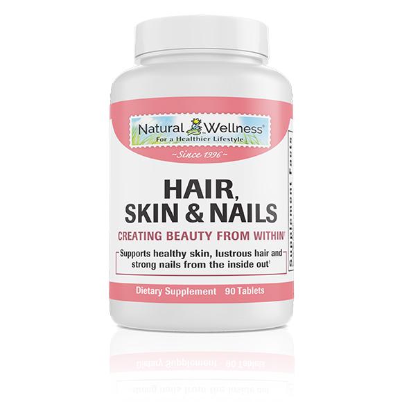 Hair, Skin & Nails - Bottle Large