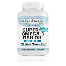 Super Omega-3 Fish Oil - Bottle
