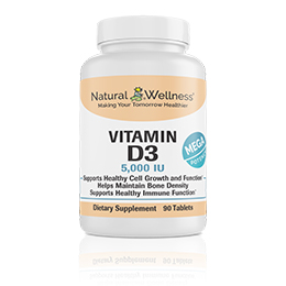 Vitamin D3 - Bottle