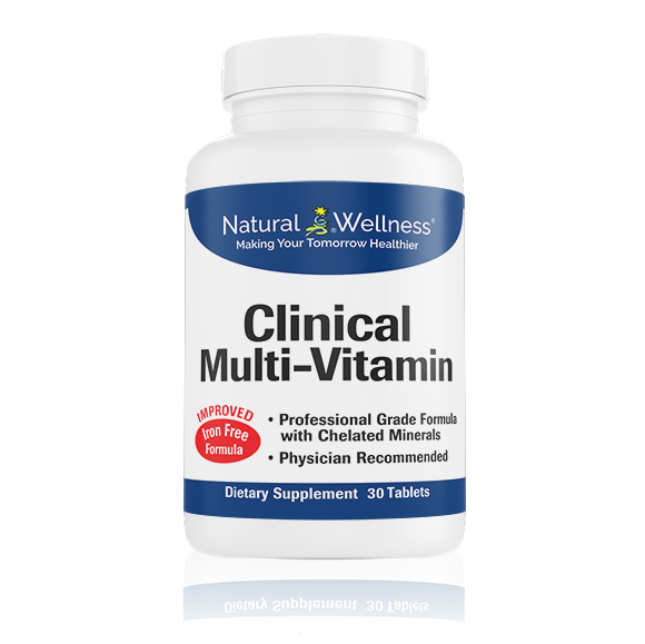 Clinical Multi-Vitamin - Bottle Large