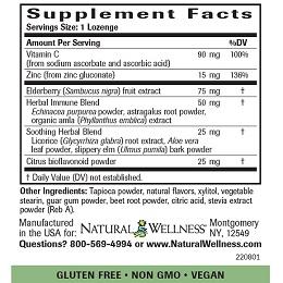 Elderberry Vitamin C & Zinc