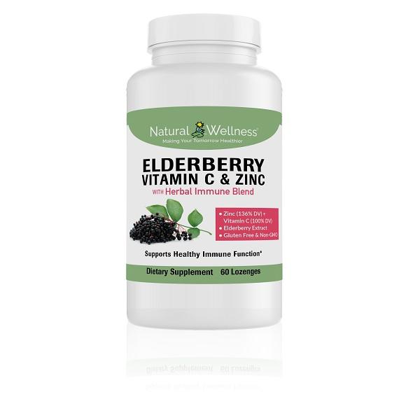 Elderberry Vitamin C & Zinc Large