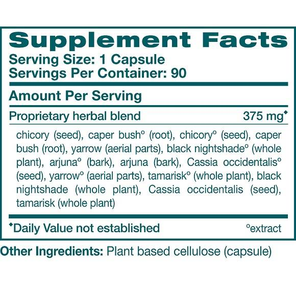 LiverCare -Supplement Facts