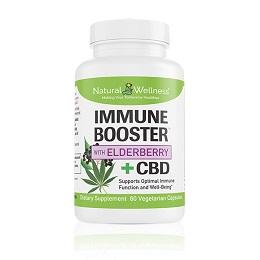 Immune Booster™ with Elderberry +CBD