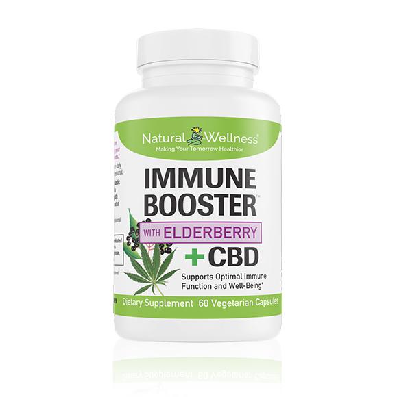 Immune Booster™ with Elderberry +CBD Large