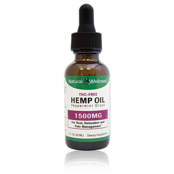Hemp Oil - 1500MG CBD Isolate Large