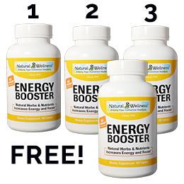 Energy Booster Buy 3 Get 1 Free