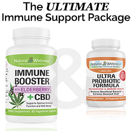 Ultimate Immune Support Package with CBD