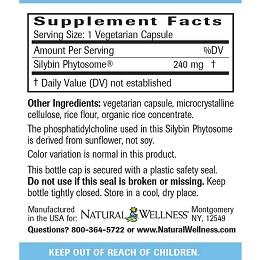 Maximum Milk Thistle - Supplement Facts