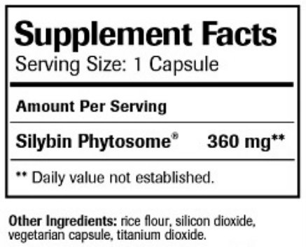 UltraThistle Ingredients