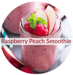Raspberry Peach UltraNourish Smoothie